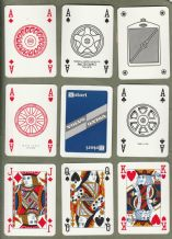 Collectable Advertising playing cards Volvo by Modiano